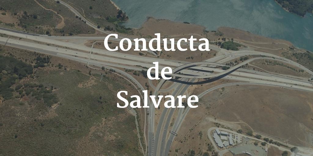 Conducta De Salvare