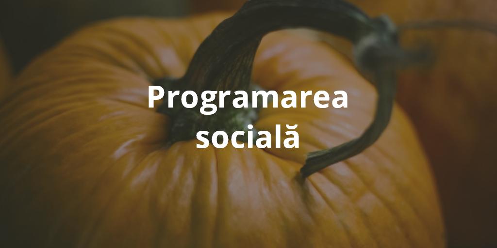 Programarea Sociala