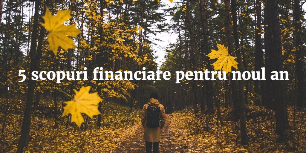 5 Scopuri Financiare Pentru Noul An