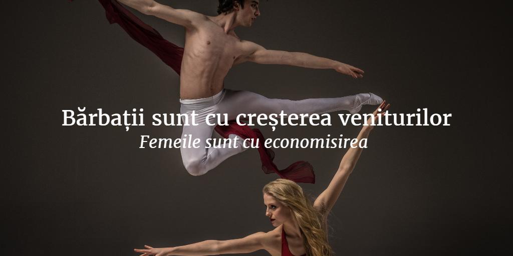 Barbatii Sunt Cu Cresterea Veniturilor Femeile Sunt Cu Economisirea