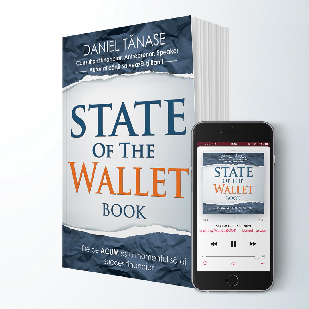 State Of The Wallet BOOK – Pachet Softcover + Audiobook