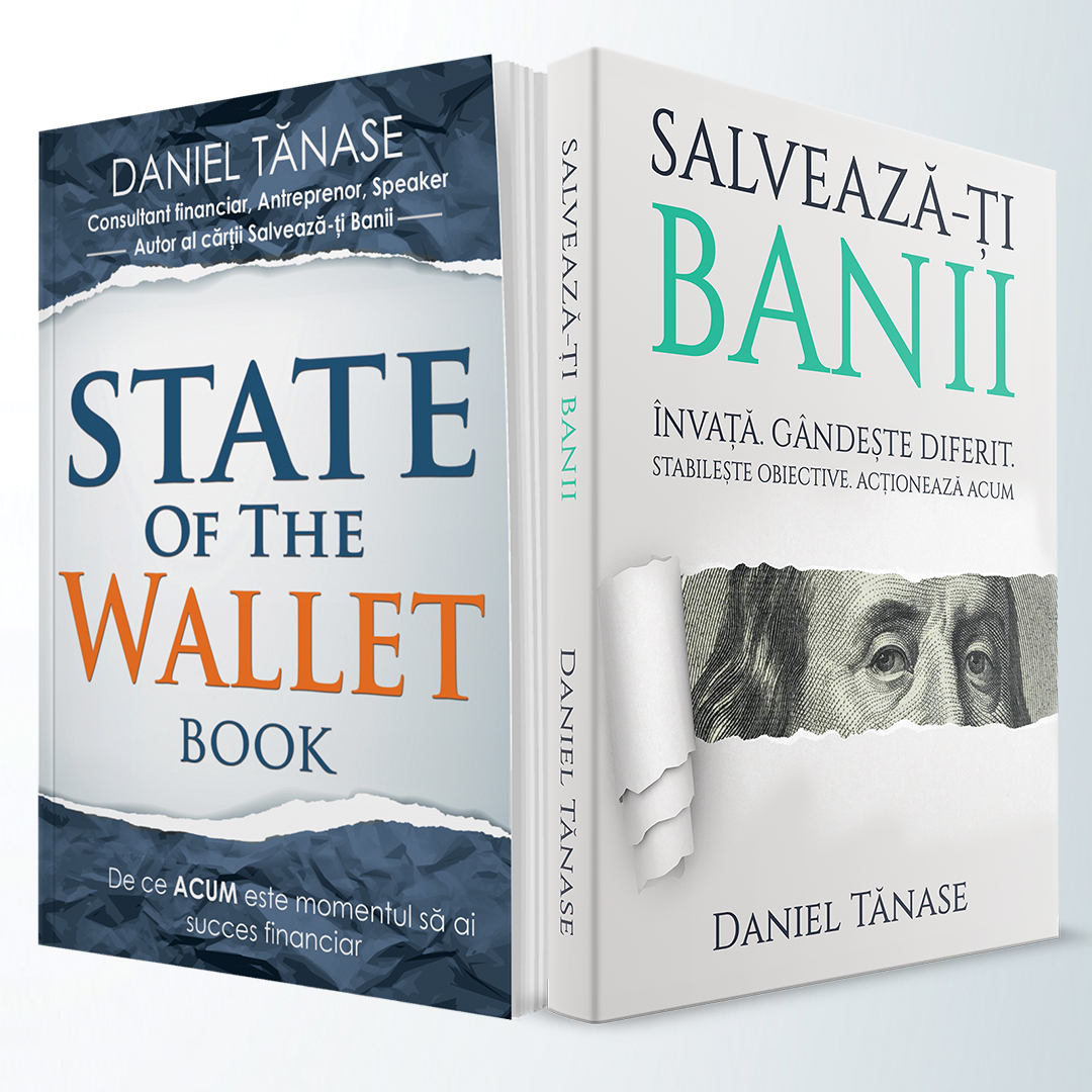 Pachet – State Of The Wallet BOOK Softcover + Salvează-ți Banii Softcover