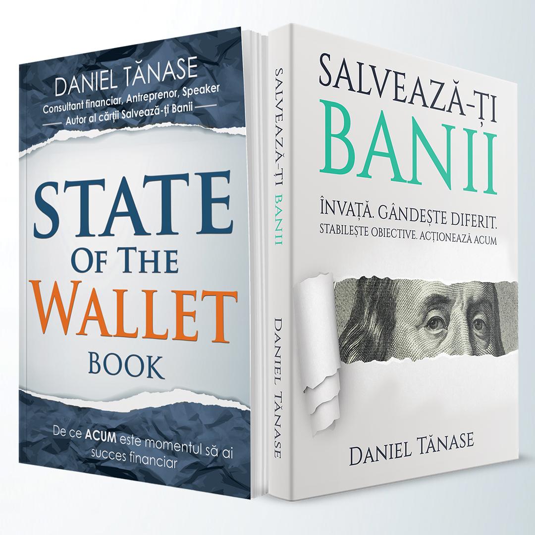 Pachet – State Of The Wallet BOOK Softcover + Salvează-ți Banii Softcover